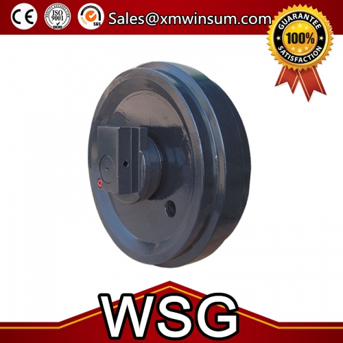 Excavator Sany SY130 SY215 Undercarriage Parts Front Idler Assy