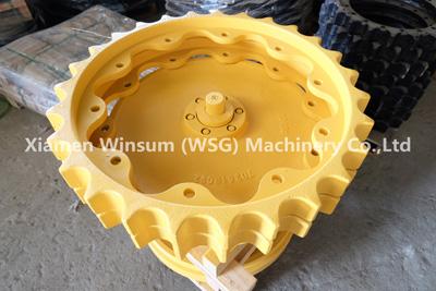 WSG Dressta TD15 TD15C Front Idler and Sprocket in OEM Quality