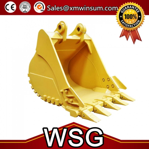 Caterpillar Rock Excavator Buckets Parts Size Volume 0.8-4.0 m3