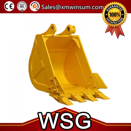 PC200-8 Excavator Heavy Duty Type Bucket With Teeth 205-922-6210