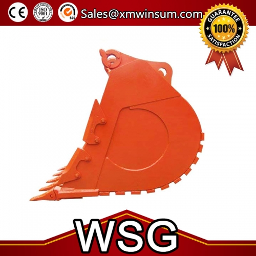 Excavator Rock Grab Type Digging Bucket Parts For Hitachi EX150