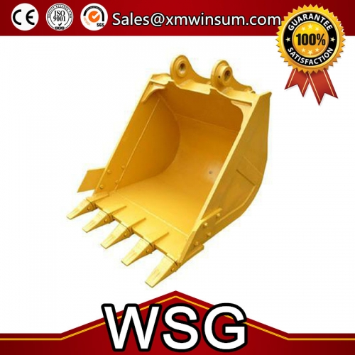 Heavy Duty Excavator Rock Grab Digging Bucket EX70 Spare Parts