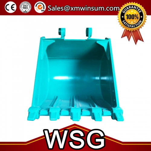 PC70-8 Excavator Bucket Parts Standrad Size 0.37CBM With Teeth