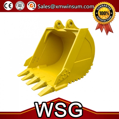 High Quality Daewoo DH150-7 DH140 Excavator Crusher Bucket Material