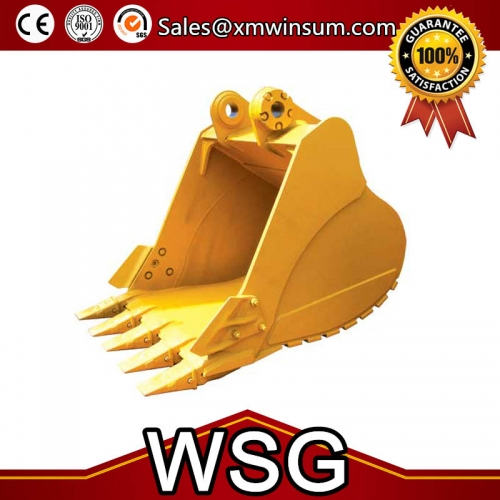 Daewoo DH220-5 DH215-7 Excavator Parts Rock Bucket Type Capacity