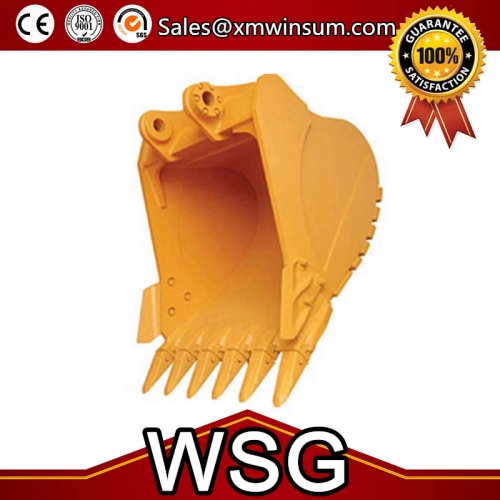 High Quality PC450-8 Excavator Parts Rock Grapple Bucket Volume