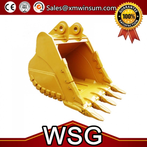 High Quality Heavy Duty Rock Bucket Parts For Excavator CAT 336D