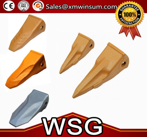 OEM 2713-1241 Bucket Teeth Bucket Excavator Tooth For DX420 Side Cutter